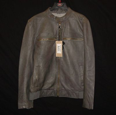 Troy Lee Designs Charcoal Leather Cafe Jacket XL