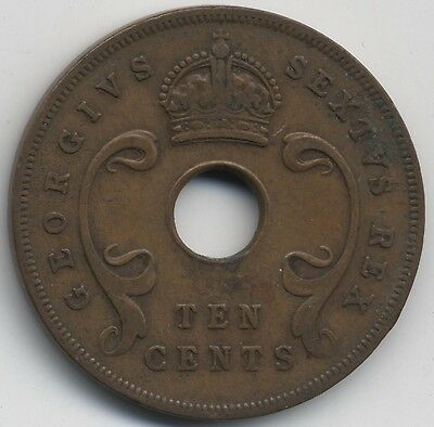 1952 East Africa 10 Cents***Collectors***