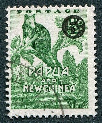 PAPUA NEW GUINEA 1959 5d on 1/2d SG25 used NG Matschie's Tree Kangaroo f #W9