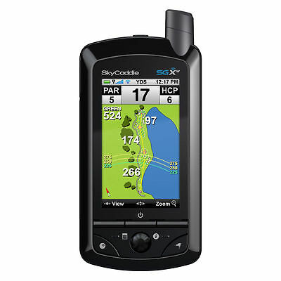 SKYCADDIE GOLF SGxW WiFi GPS RANGEFINDER  REFURBISHED WITH NEW CASE & WARRANTY