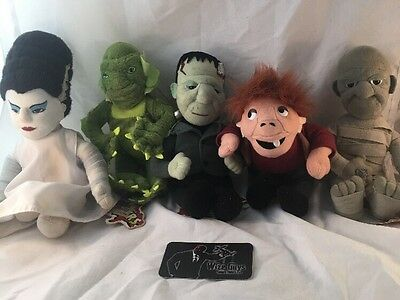 RARE Set of 5 CVS Universal Monsters Dolls With Tags Creature Bride Mummy