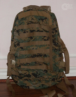 NEW USMC WOODLAND MARPAT ILBE APB03 Assault Pack MOLLE PALS Gen II Nylon Propper