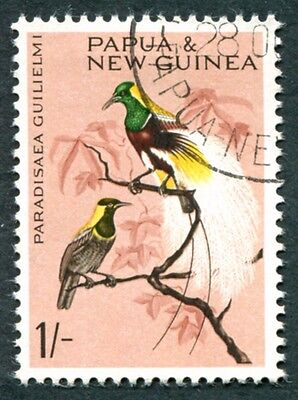 PAPUA NEW GUINEA 1964-5 1s SG66 used NG Birds #W9