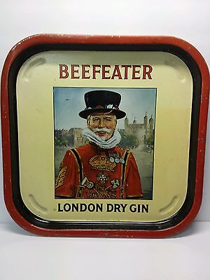 "13-1/2"" × 13-1/2"" Beefeater London Dry Gin Cocktail Tray"