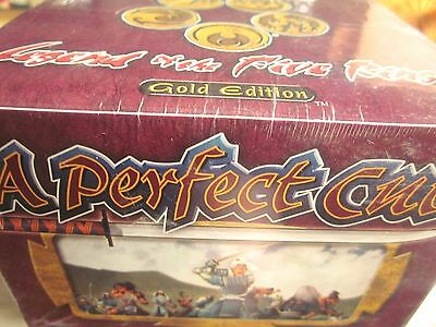 L5R A PERFECT CUT Gold Edition Booster Pack Display (48 Packs) Sealed