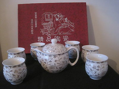 CHINESE TEA-SET 7 pieces Brand New in box