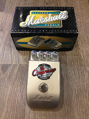Marshall ED-1 Edward the compressor - guitar effects pedal