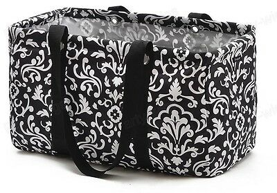 Thirty One Gifts MEDIUM Utility Tote Bag Parisian Poppy NEW