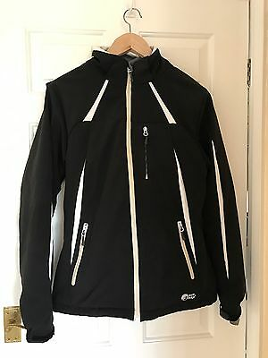 Black North Ridge Ski Jacket Size 12 Good Condition