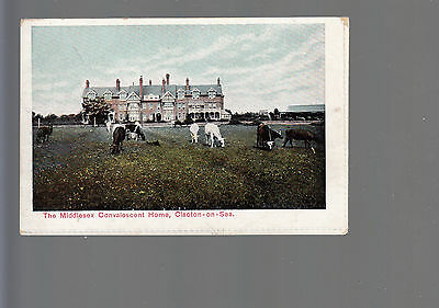 The Middlesex Convalescent Home Clacton-on-Sea Vintage Postcard