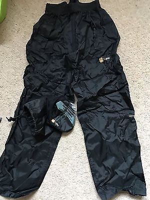 HiGear Kids Waterproof Trousers Size 9:10Y VGC