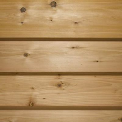 ex125mm x 19mm Thick 16mm finish Treated Wooden Shiplap Cladding Boards