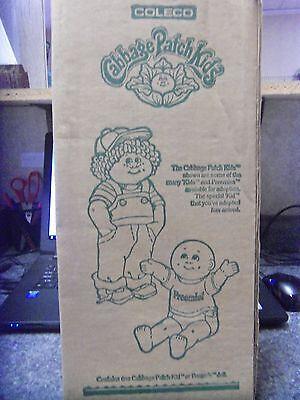 Coleco 1983 Cabbage Patch Doll NIOB Blonde/Green eyed