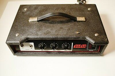 Vintage Univox STAGE Model 65B Guitar Amplifier Amp Head Solid State Unicord