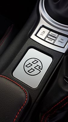 Toyota GT86 None heated seat, silver 86 logo emblem centre console