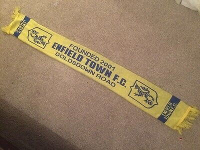 Classic Rare ENFIELD TOWN FC Scarf - 2006-08