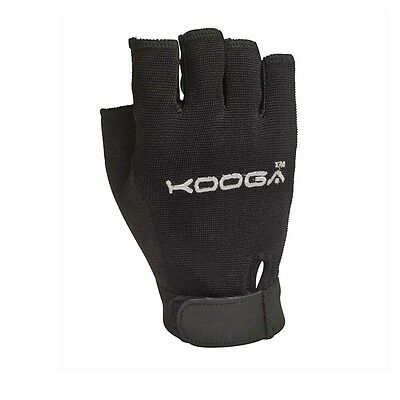 KOOGA K-Mitt  Rugby Gloves [black]-Size Large-Boys