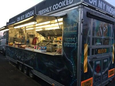 Fully equipped catering van for sale