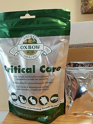 Oxbow Critical Care 40g Sachet for all herbivores