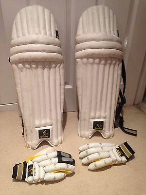 Readers Cricket Knee Pads And Batting Gloves