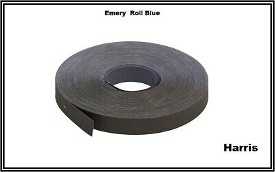 Emery Cloth Aluminium Oxide Sanding Paper Roll Sheet Metal working 25mm x 50M