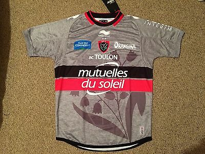 Player Issue Toulon Rugby Match Day Shirt BNWT