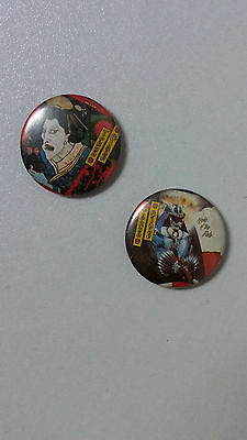 Tokyo Blade English heavy metal band music buttons vintage SMALL BUTTON set