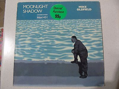 "Mike Oldfield - Moonlight Shadow - 12"" Vinyl Maxi Single"