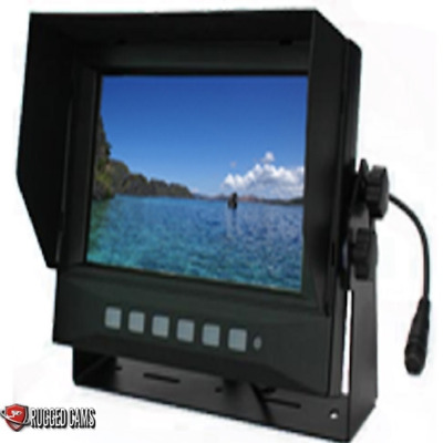 "Rugged Cams 7"" Waterproof Mobile Color Monitor - 2 Channel Model"