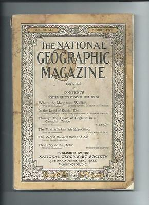 May 1922  National Geographic Magazine-Lots Of Adds And Information