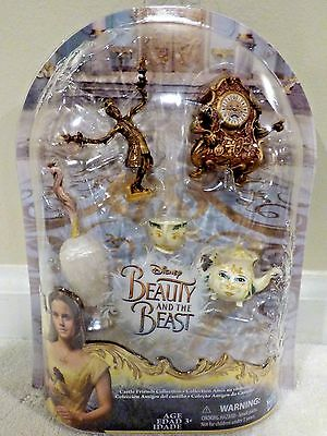 2017 Disney Beauty And The Beast Castle Friends Collection Playset New
