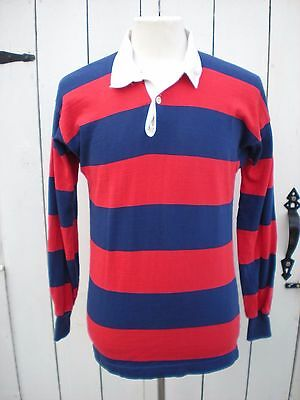 CANTERBURY OF NEW ZEALAND INTERNATIONAL RUGBY JERSEY Size Large L Red & Blue