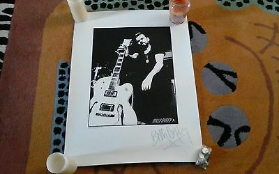 The Cult Ltd Signed Poster