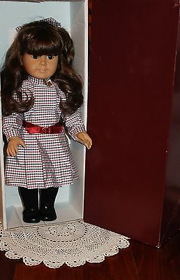 American Girl Doll Samantha, West Germany! White Body! Original Box! Pristine!