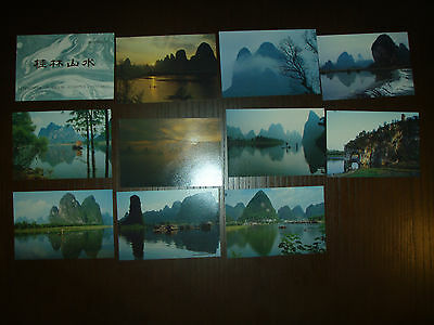 China Postcards  different