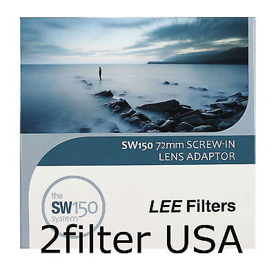 Lee Filters SW150 72mm Screw-in Lens Adapter for SW150 Mark II Holder 150mm