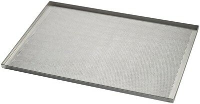 Commercial Aluminium 4 Sided Perforated Baking Sheet 600 x 400 x 20 mm