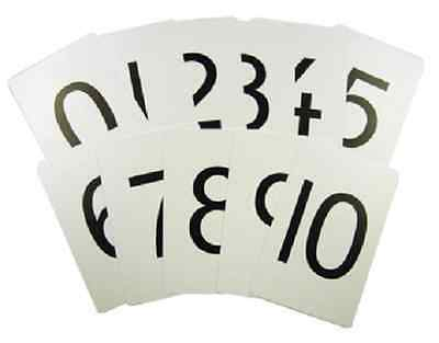 Maths Number Cards 0 - 10 flash cards
