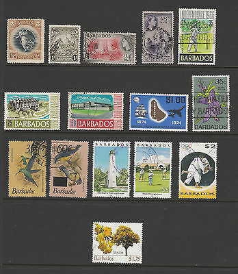 Small Selection Of Barbados To $5