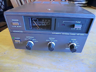 Kenwood At 250 Automatic Antenna Tuner For Ts 430 440 140 And More
