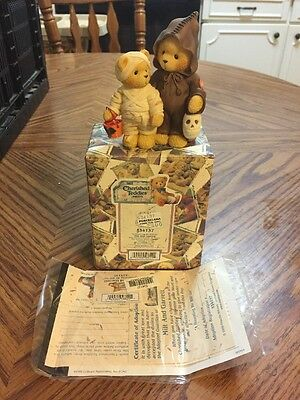 "Cherished Teddies By Enesco #534137 ""A Haunting We Will Go"""