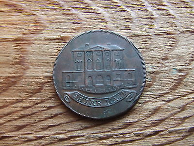 Essex.   Chelmsford.  1794, Halfpenny Token.  Shire Hall..  Nice Condition.