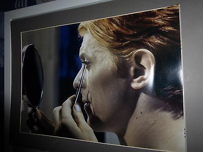 david bowie french man who fell to earth A3 + free german  scary monsters prints