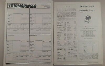 stormbringer rpg reference sheets and forms