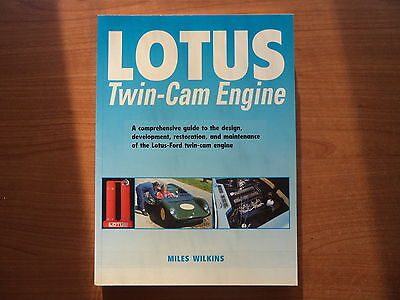 Lotus Twin-Cam Engine Book Miles Wilkins Brand New Never Read