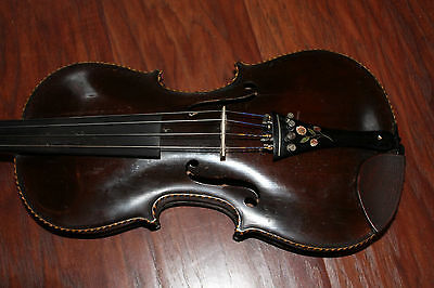 Old Jacobus Stainer Lion's Head Violin Fiddle  4/4