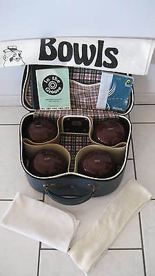 SET 4 MAROON HENSELITE Dreamline LAWN BOWLS Gripped SIZE 2H PACKAGE +BAG +EXTRAS