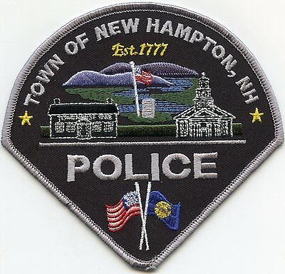 New Hampton New Hampshire Nh Police Patch