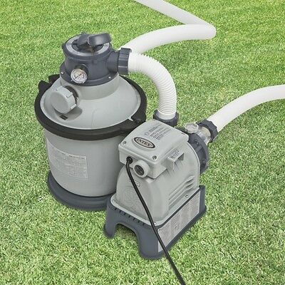 New Genuine Intex 0.25hp SAND FILTER & PUMP Combo for Above Ground Pool 28644
