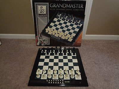 Excalibur Grandmaster Chess Computer Works Great Complete Near Mint